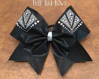 Rhinestone Cheer Bow (YOU CHOOSE COLOR)