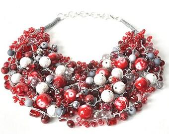 kama4you 3421 necklace crocheted
