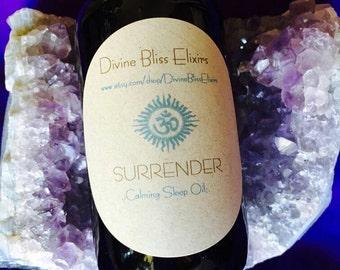 Surrender Δ Sleep Oil {Sacred Healing} {VEGAN and Naturally GLUTEN FREE}