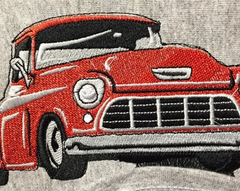 """Embroidered """"1955-56 Chevy Truck"""" Shirt"""
