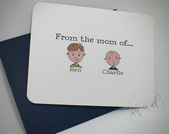 From The Mom of... Note Cards