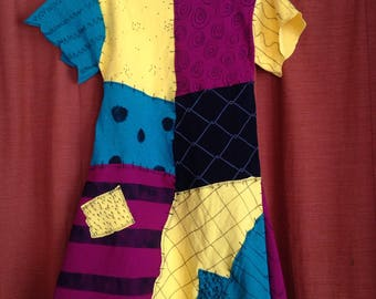 Sally Dress Nightmare Before Christmas Child Size 18 month,  2T, 3T, 4T & 5 costume or daily wear