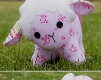 "Melly & Me pattern by  Melanie McNeice   ""Baa Baa"" the Sheep  Stuffed Toy"