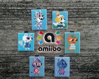 amiibo Animal Crossing New Leaf double-sided keychain clip