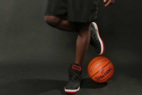 Customized Personalized Spalding Indoor/Outdoor Official Size 29.5 Basketball with Silver Text
