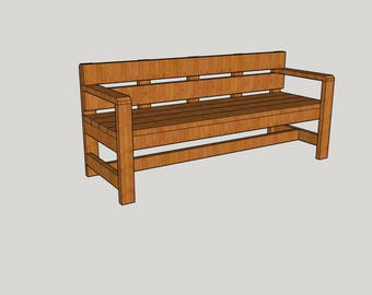 6 ft. Long Park Bench