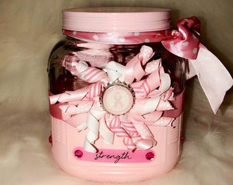 Fight Like A Girl  Gift In A Jar