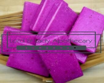 Midnight Rose Body Polishing Soap