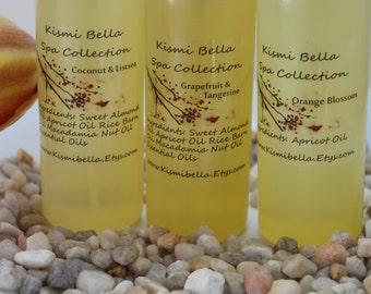 Bath Oil, Body Oil, Dry Skin, Perfume Oil Orange Blossom