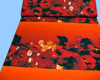 1 Rapport flower-jersey terracotta