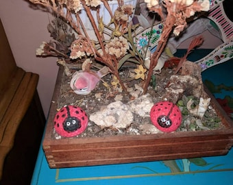 Lady Bug Golf Ball Garden or Home Decoration
