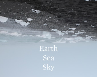 "Nathan Hall ""Earth Sea Sky"", limited edition CD recorded in Iceland"
