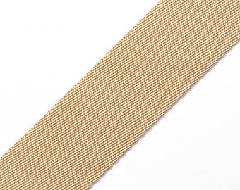 35mm (1-3/8) Polyester Webbing Ribbon Trim by 2 yard, 4 colors, STEP-116