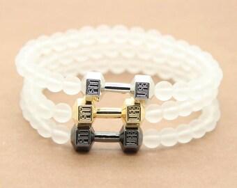 Dumbell bracelet