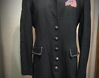 Vintage 80's Upcycled Jacket