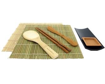 Sushi Making Kit with Serving Set