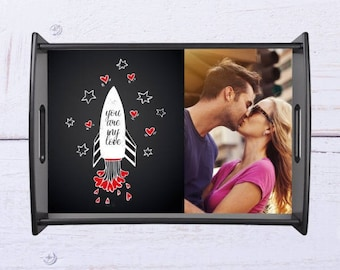 Lunch tray personalized with your photo gift personalized with your photo
