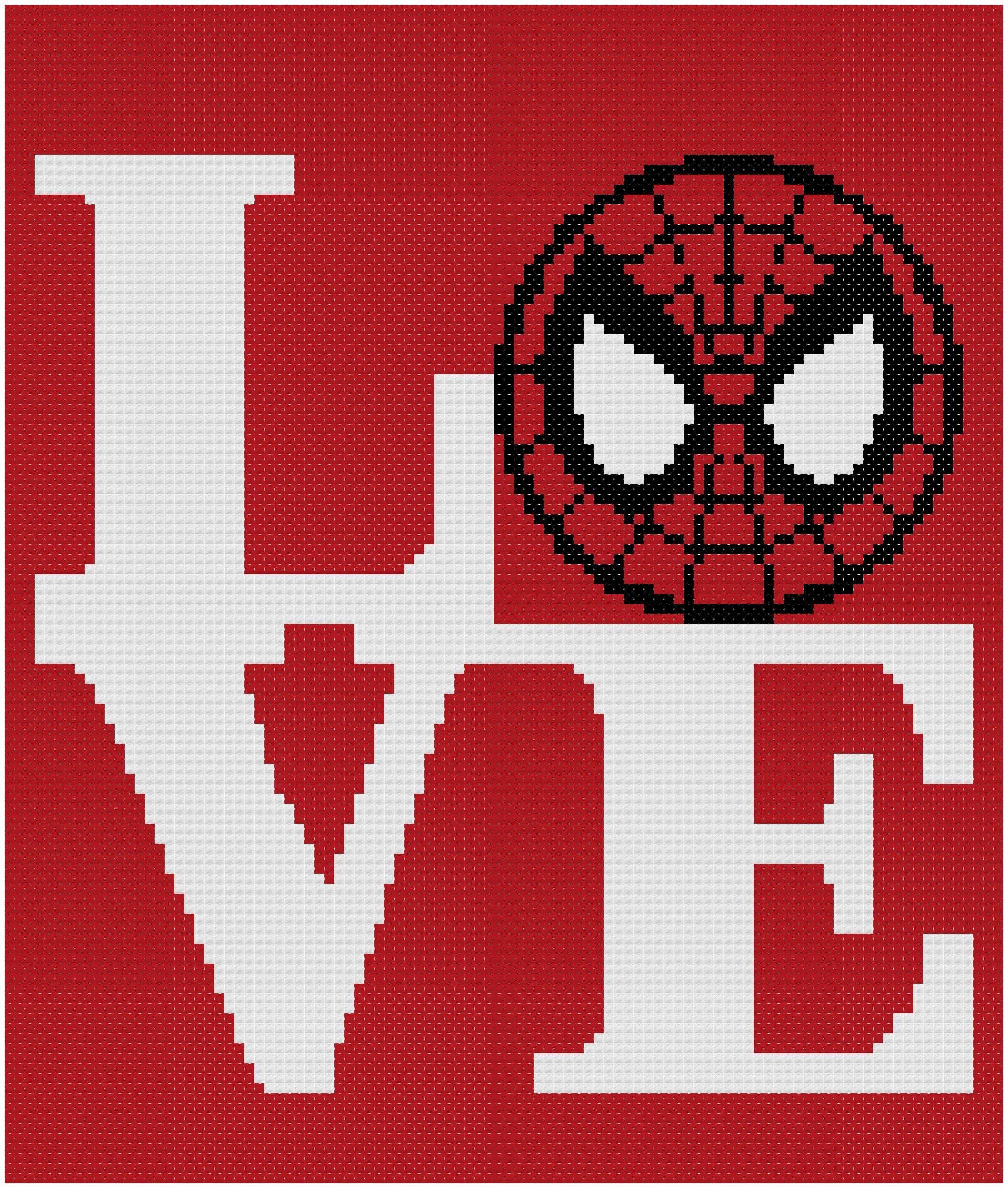 Spiderman cross stitch patternavengers cross chartmarvel cross this is a digital file jeuxipadfo Images