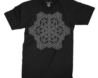 Innerself T-shirt ~ sacred geometry clothing ~ alchemy ~ love ~ usa made ~ shirt