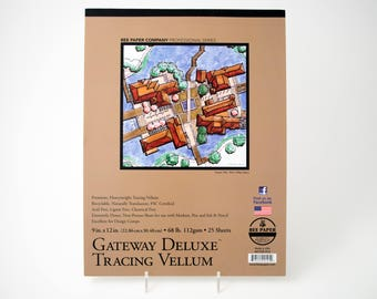 "Bee Gateway Deluxe Tracing Vellum, 9"" x 12"""