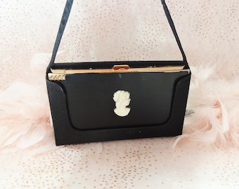 Black Volupte Cameo Carryall