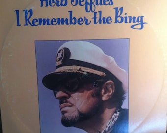 Herb Jeffries I Remember The Bing Vinyl Jazz Record Album