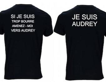 2 black t-shirts with original transfer