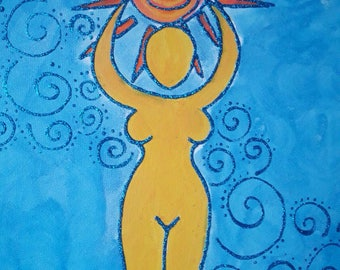 The Sun Goddess