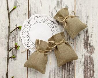 150 Burlap Favor Bags, Wedding Gift Bags, Rustic Candy Bags, Weding favor bags, Rustic wedding bag - 3 х 4