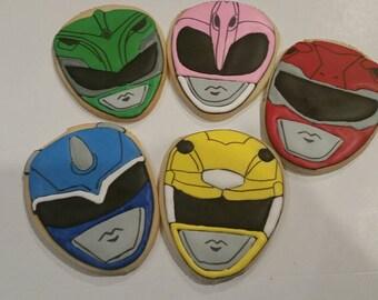 Power Ranger cookies