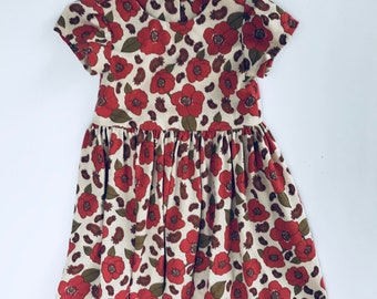 Poppies and Paiselys Girls' dress