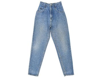 Vintage Lee Jeans Womens High Waisted Jeans 80s Mom Jeans Medium Blue Jeans Harem Jeans Womens Lee High Rise Denim Jeans 27 W