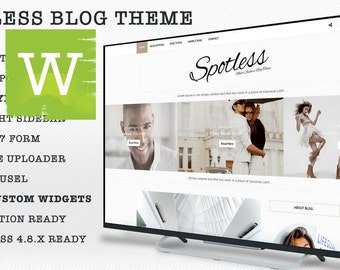 Clean WordPress Blog Theme - WordPress Theme - WordPress Blog Theme - WordPress Template - Blog - Blogs - Bloggers