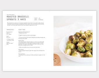 InDesign CC Cookbook Template