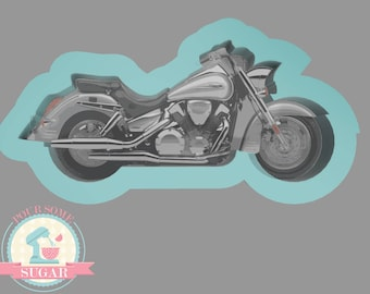 Cruiser Motorcycle Cookie Cutter