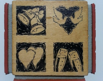4 in One Block Stamp