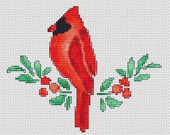 Cross Stitch Pattern, Cross Stitch Patterns, Cross Stitch, Counted Cross Stitch, Cross Stitch Chart, Xstitchpatterns, Cross Stitch Cardinal