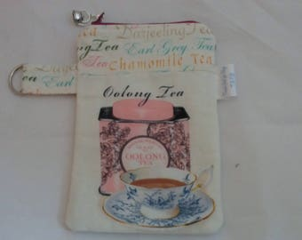 Variety Cord Keepers, Tea bags, Tea bag bags, Earl Grey Tea bag