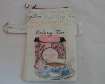 Variety Cord Keepers, Tea bags, Tea bag bags, Earl Grey Tea bag