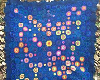 Stargazer -  Crochet Afghan/Blanket  - PDF CROCHET PATTERN