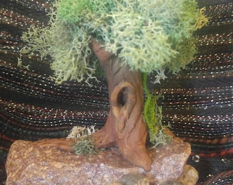 Polymer Clay Tree For Fairy Gardens or Miniatures