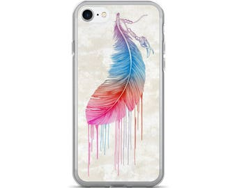 Feather Canvas Native American Inspired iPhone 7/7s case, iPhone 7/7s plus, iPhone 5/5s/Se, iPhone 6/6s case, iPhone 6s plus