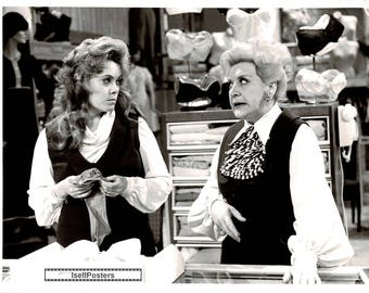 Are You Being Served? – 1976 - B & W Publicity still – Wendy Richard and Mollie Sugden