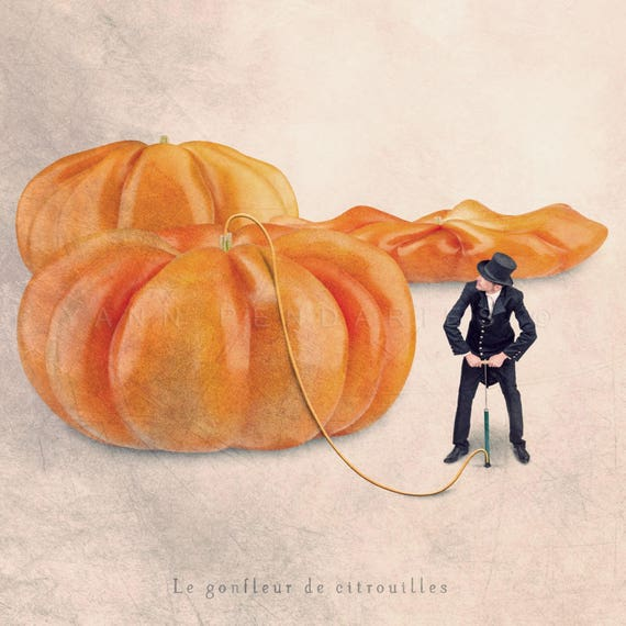 Pumpkin print, Halloween Decor, Tiny trades, French photography, Kitchen art, october trends, Kitchen wall decor, gifts for gardeners