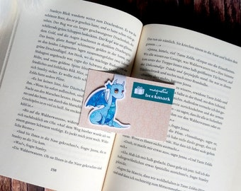 Magnetic bookmarks Dragon