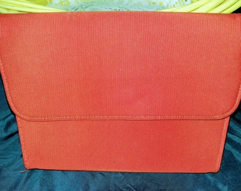 Sassy Vintage Red Clutch
