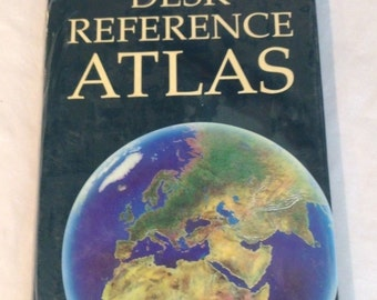 Oxford atlas etsy oxford desk reference atlas 1997 hardcover new in wrap gumiabroncs Images