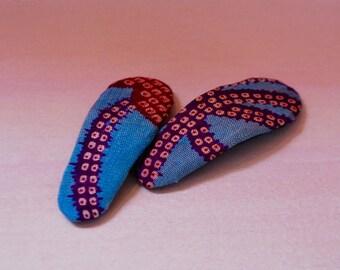 Silk Kimono hairpin