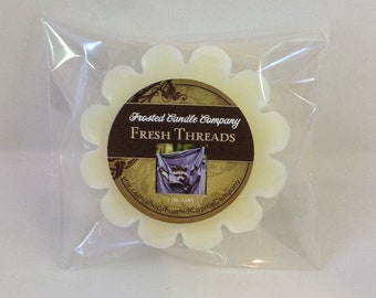 Fresh Threads 1 oz Soy Wax Tart Clean Linen Cotton Crisp One Package