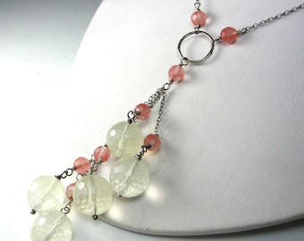 Cherry and Pineapple Drop Necklace